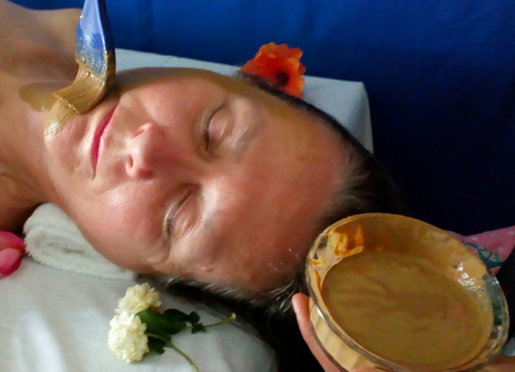 Ayurvedic facial pack