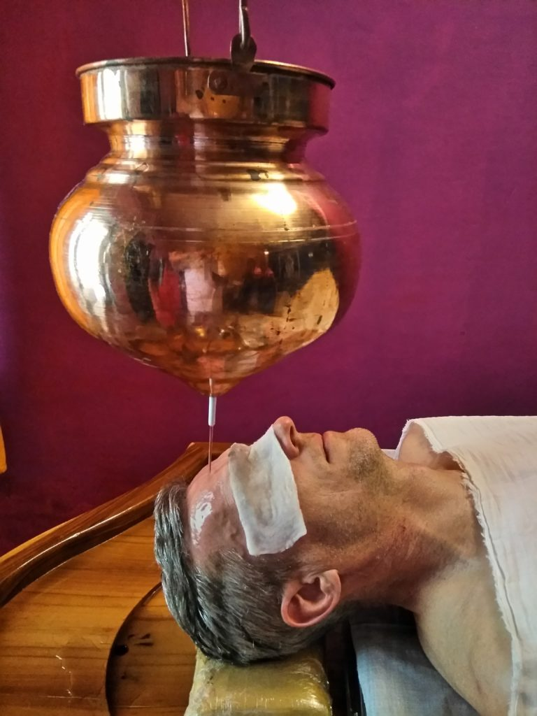 SHIRODHARA, panchakarma, ayurveda, fire mountain